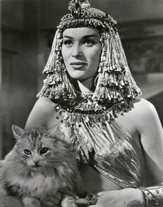 Bella Darvi in 'The Egyptian', 1954.