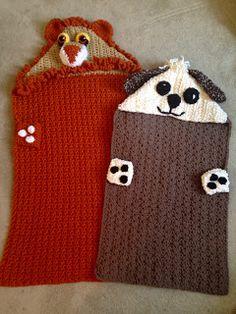 Crochet Lion Blanket/Pillow Hooded...Kid's Blanket.  Lion.  Puppy.