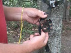 How to tie the Marlin Spike Hitch in your hammock suspension webbing.