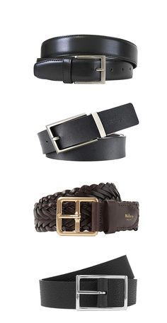 A belt doesn't just keep your pants up, it's an accessory that adds to the outfit! Let Black Lapel help you choose the right belt for your suit. Mens Gadgets, Choose The Right, Types Of Shoes, Watches For Men, Mens Fashion, Pure Products, Men's Belts, Suit, How To Wear