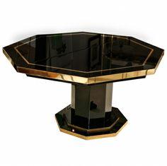 Octagonal Table By Birgit Israel