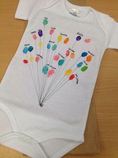 Cadeautje voor een pasgeboren broertje of zusje met de klas!:
