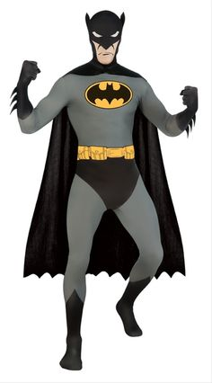 e9c5f6153056 Adult Batman Skin Suit Costume Bodysuit Costume
