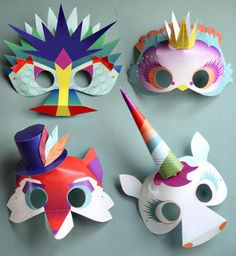Mari from Small for Big has opened up an online store called Smallful which is packed full of brilliant, inspired printables. I adore the magical masks, it's a printable set which includes Fantasti...