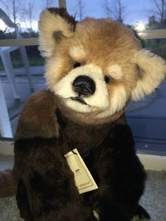 """Awesome OOAK """" Ava"""" by Lisa Wills of Bears Upon Soar Red 21"""" Panda 