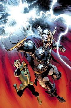 Thor and kid Loki :D