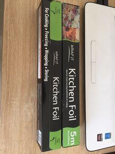 Kitchen foil | 300mm x 5m | leo@beewaygroup.com #kitchenfoil #aluminumfoil #alufoil #tinfoil #foilwrap #wrappingfoil #foodfoil Kitchen Foil, Food F, Disposable Gloves, Plastic Containers, Paper Straws, Leo, Wraps, Lion, Rolls