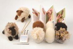 Romney Ridge Farm -SHEEP Needle Felting Kit   $22.50