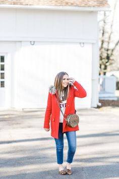 How to effortlessly mix prints in the winter. Plaid And Leopard, Leopard Pumps, Striped Turtleneck, Pattern Mixing, Mixing Prints, Work Casual, Get Dressed, Capsule Wardrobe, Winter Outfits