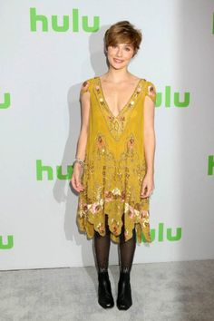 Clare Bowen at the Hulu's Winter TCA Tour in January 2017...