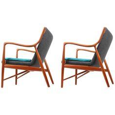 Pair of NV45 Chairs | 1stdibs.com