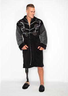 Mens Official Marvel Avengers Fleece Dressing Gown Bath Robe Night Gown