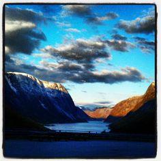 Kjøsnes-Fjærland.  @anetteso- #webstagram