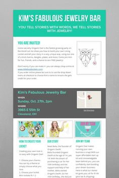 I adore Smore for making virtual flyers!!!