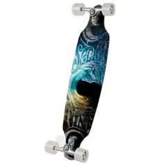 """Sector 9 36"""" Sidewinder... love this board. It's a drop-deck, double kink pin so it is super turny and also has great grip. Cruising on it is amazing, and if you have harder wheels it's good for sliding & freestyle."""