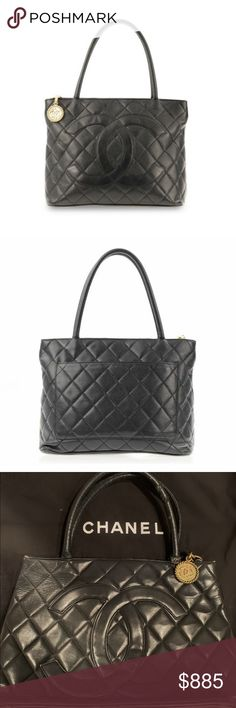 b07978267643 I just added this listing on Poshmark: Chanel Médallion Cavier Leather Tote  with dust bag