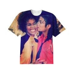 Michael Jackson and Whitney Houston T-Shirt. The great ones. Maybe I'll get this. Style