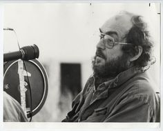 VINTAGE 1987 ICONIC Stanley Kubrick on Set of Full Metal Jacket Press Photo