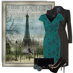 """PARIS"" by defineyourstyle on Polyvore"