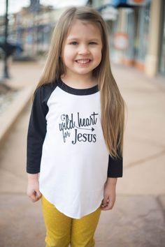Wild Heart for Jesus Tee Faith-based Inspirational by hertinytribe etsy