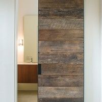 barn door. contemporary colorado home | Superb Barn Door decorating ideas for Lovely Bathroom Modern design ...