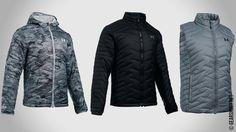 Under Armour выпустила новые модели утеплённых курток из серии ColdGear Reactor