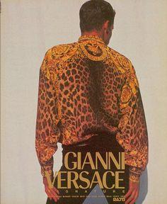 Gianni Versace Spring/Summer 1992 Photographer Doug Ordway