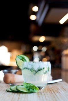 The GBC (Gin, Basil & Cucumber) | bsinthekitchen.com #cocktail #drink #bsinthekitchen #gindrinks