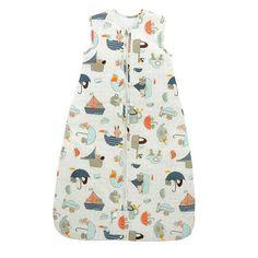 The Gro Company 1.0 TOG Travel Grobag Baby Sleep Bag - Newborn, Infant Unisex, Size: 0-6 Months, Blue