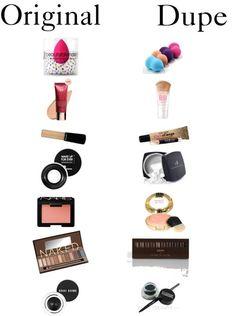 Drugstore Beauty & Dupes: