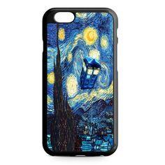 Starry Night Tardis Doctor iPhone 7