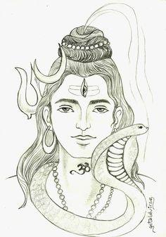 Sketch of Shiva