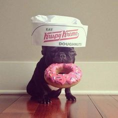 ...time to make the doughnuts.