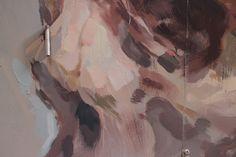 EMILIO CEREZO  'Puerta al sótano'  [Barcelona, Spain 2015] (detail 4) Barcelona, Emilio, New Wall, Urban Art, Artist, Painting, Cherry Tree, City Art, Street Art