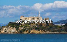 visit alcatraz island #bucketlist