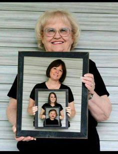 Cute for four generation photo