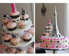 Oooh La La Paris 1st Birthday Party