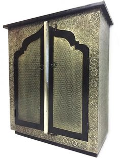 Indian Commode Talah - silver colored Oriental Oriental cabinet