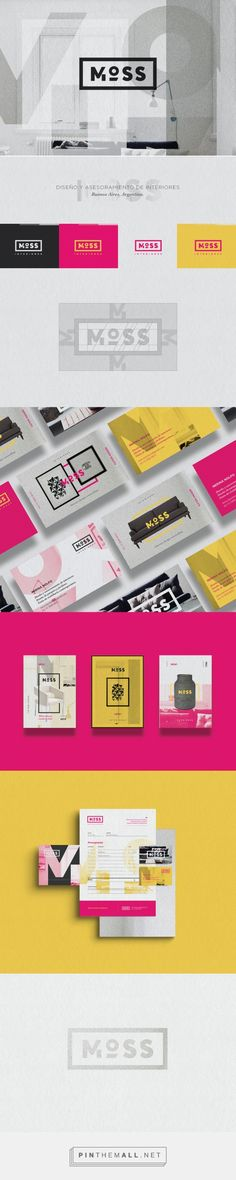 MOSS Interior Design Branding by Emiliano Carbone | Fivestar Branding – Design and Branding Agency & Inspiration Gallery