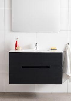 Hafa Sun badrumsmöbel tvättställsskåp - Starter site e-commerce Tiles, Mirror, Bathroom, House, Furniture, Design, Home Decor, Image, Room Tiles