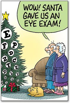 Santa gives an eye exam on Christmas tree FCL03976.jpg (352×515)