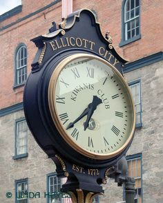 Clock, Ellicott City, MD