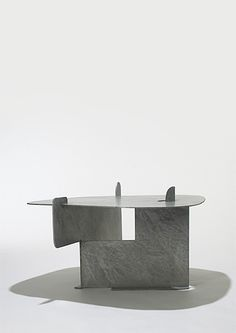 Wright Auctions. ISAMU NOGUCHI. Pierced Table (IN-82-2090) Gemini G.E.L. USA, 1982-83 hot-dipped galvanized steel