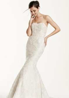 David's Bridal Galina Signature Style SWG605 Wedding Dress - The Knot