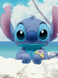 Gotta love Stitch! His badness level may be unusually high for someone his size, but he has a heart of gold!