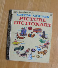A Little Golden Book  Little Golden Picture by TheBigBlueMarble, $4.00