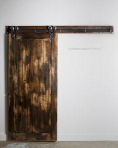 Vertical Slat Door | Rustica Hardware