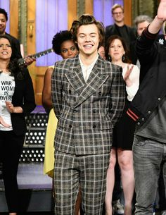 Harry at the end of the show