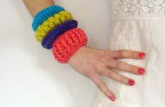 knit bracelets