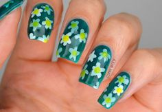 NAILS | BCD NAIL ART CHALLENGE WEEK 8 - Pond Manicure